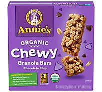 Annies Homegrown Granola Bars Organic Chewy Chocolate Chip - 6-0.89 Oz
