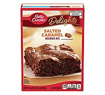 Betty Crocker Brownie Mix Delights Salted Caramel - 18.4 Oz