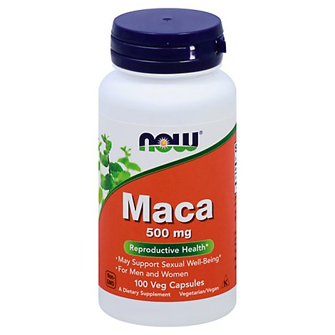 Maca 500mg  100 Vcaps - 100 Caps
