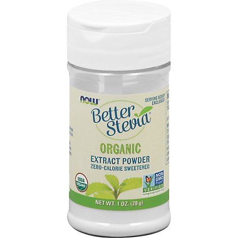 Better Stevia Powder Organic 1 Oz - 1 Oz