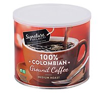 Signature SELECT Coffee Ground Medium Roast Colombian - 24.2 Oz