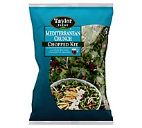 Taylor Farms Salad & Toppings Chopped Salad Mediterranean Crunch - 10.89 Oz