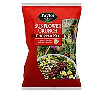Taylor Farms Chopped Salad Kit Farmhouse Bacon With Sunflower Seeds - 10.3 Oz
