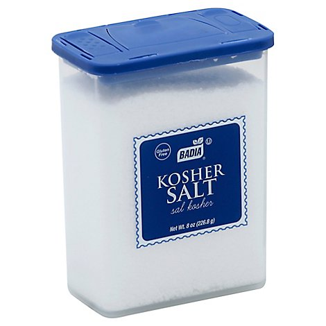 Badia Salt Kosher - 8 Oz