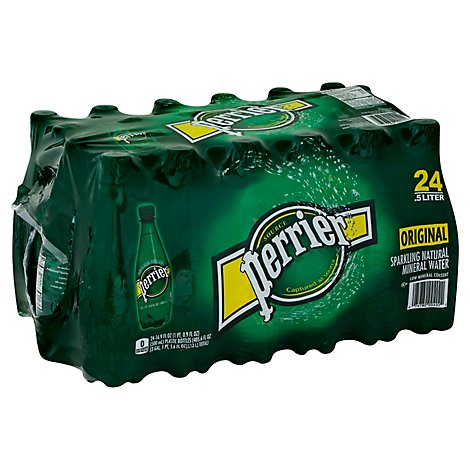 Perrier Water Sparkling Mineral Original Multipack - 24-16.9 Fl. Oz.