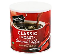 Signature SELECT Coffee Ground Medium Roast Classic Roast - 30.5 Oz