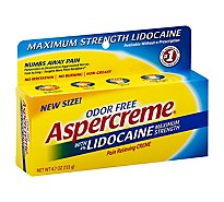 Aspercreme Pain Relieving Creme Maximum Strength - 4.7 Oz