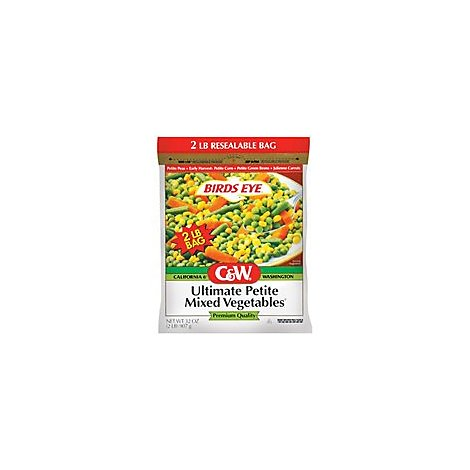 Birds Eye C&W Vegetables Mixed Ultimate Petite - 32 Oz