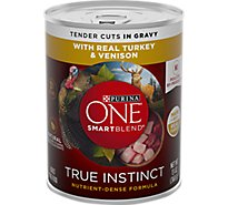 One Dog Food Wet Smartblend Turkey And Venison - 13 Oz