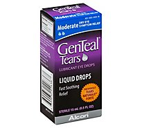 GenTeal Tears Eye Drops Lubricant Moderate - 0.5 Fl. Oz.