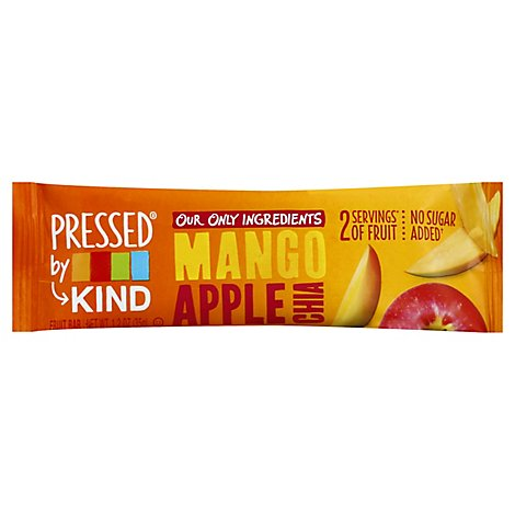 KIND Pressed Bar Fruit Mango Apple Chia - 1.2 Oz
