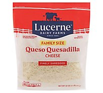 Lucerne Queso Quesadilla Shred - 32 Oz