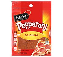 Signature Farms Pepperoni Original Sliced - 6 Oz