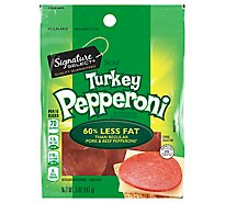 Signature Farms Pepperoni Turkey - 5 Oz