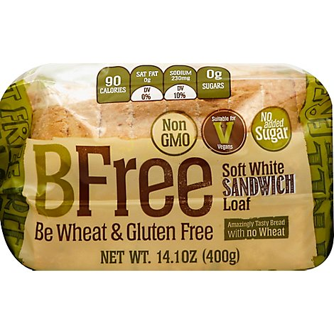Bfree Loaf Bread Soft White - Each