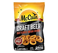 McCain Onion Rings Battered Craft Beer - 14 Oz