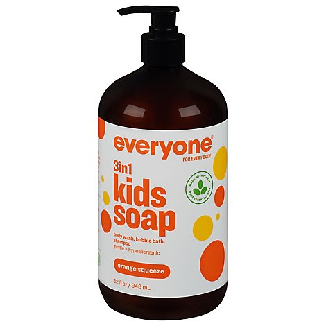 Everyone For Every Kid Soap Orange Squeeze - 32 Fl. Oz.