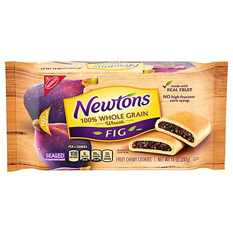 Newtons Cookies 100% Whole Grain Wheat - 10 Oz