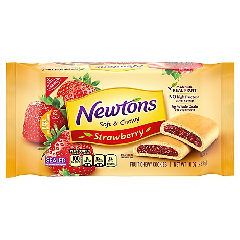 Newtons Cookies Strawberry Soft & Fruit Chewy - 10 Oz