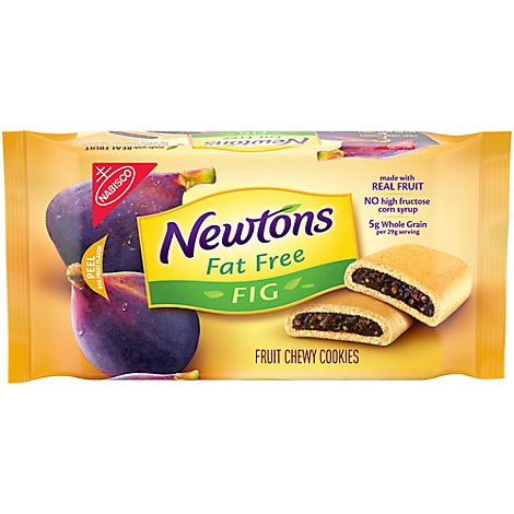 Newtons Cookies Fruit Chewy Fat Free Fig - 10 Oz