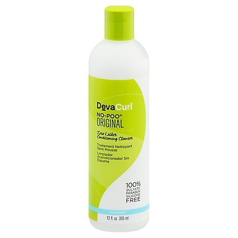 Devacurl Conditioning Cleanser Zero Lather No-Poo - 12 Fl. Oz.