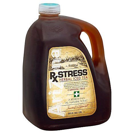 AriZona Iced Tea Herbal Rx Stress Caffeine Free - 128 Fl. Oz.
