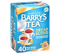 Barrys Tea Tea Decaffeinated - 40 Count