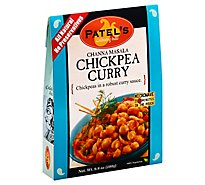 Patels Indian Cuisine Ready-To-Eat Chickpea Curry Channa Masala - 9.9 Oz