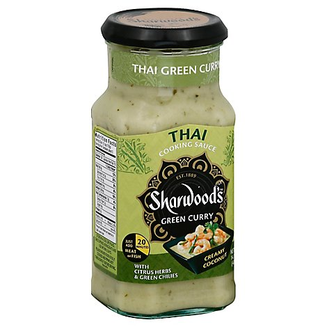 Sharwoods Sauce Cooking Thai Grn - 14.10 Oz