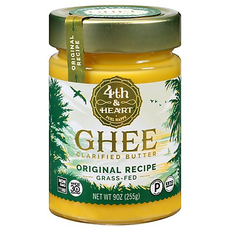 4th & Heart Ghee Butter Original Recipe - 9 Oz