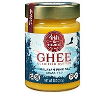 4th & Heart Ghee Butter Himalayan Pink Salt - 9 Oz