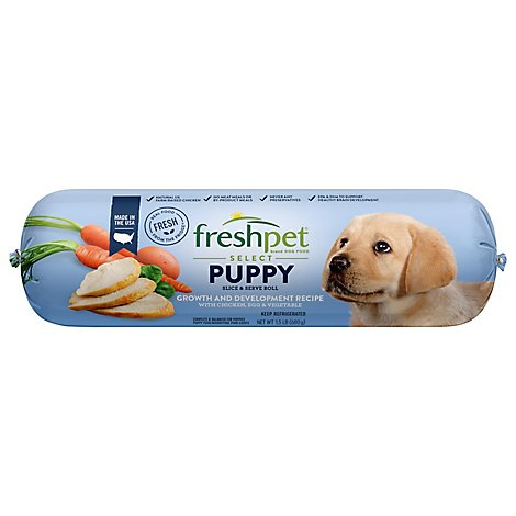Freshpet Select Dog Food Puppy Tender Chicken Recipe Wrapper - 1.5 Lb