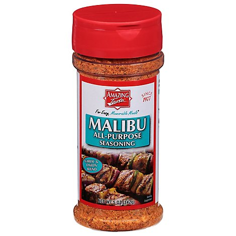 Amazing Taste No Salt Malibu Seasoning - 5 Oz