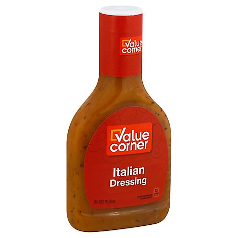 Value Corner Dressing Italian - 16 Fl. Oz.