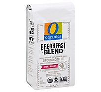 O Organics Coffee Ground Light Roast Breakfast Blend - 10 Oz