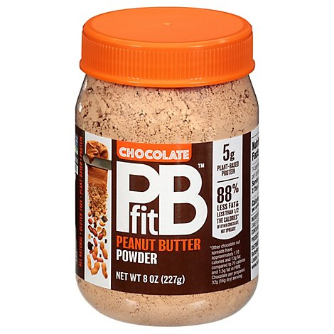 Pbfit Peanut Butter Powder Chocolate - 8 Oz