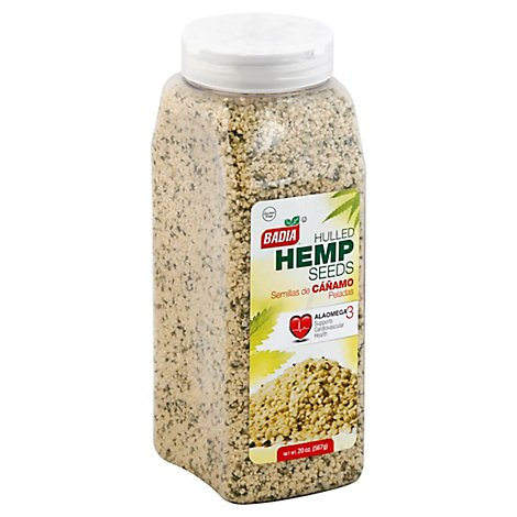 Badia Hemp Seeds Hulled - 20 Oz