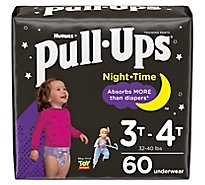 Pull-Ups Training Pants Learning Designs 3T-4T Night Time Disney - 60 Count