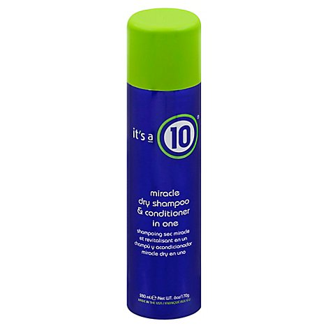 Its A 10 Miracle Dry Shampoo & Conditioner in One - 6 Oz