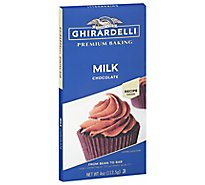 Ghirardelli Chocolate Baking Bar Premium Milk Chocolate - 4 Oz