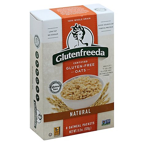 Glutenfreeda Oats Gluten Free Natural - 8 Count