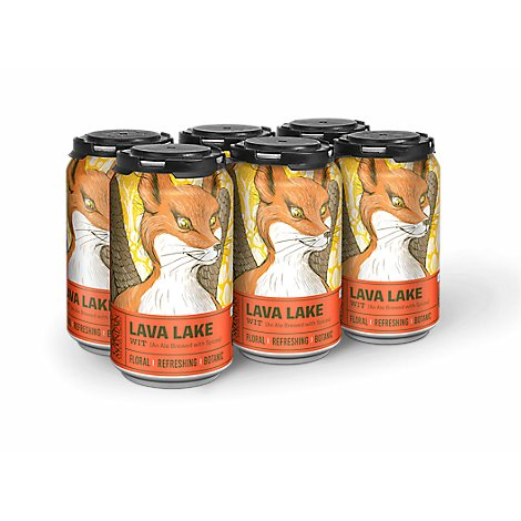 Crazy Mountain Lava Lake Wit In Cans - 6-12 Fl. Oz.