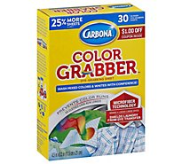 Carbona In Wash Sheets Color Grabber With Microfiber Box - 30 Count