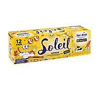 Signature SELECT Soleil Water Sparkling Lemon - 12-12 Fl. Oz.