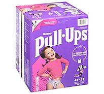 Pull-Ups Training Pants Learning Designs For Girl Toddler 4 To 5 - 56 Count