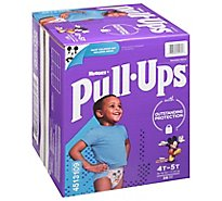 Pull-Ups Training Pants Learning Designs 4T-5T Day & Night Disney Pixar - 56 Count