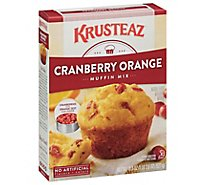 Krusteaz Muffin Mix Supreme Cranberry Orange - 18.6 Oz