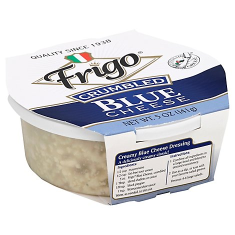Frigo Cheese Blue Crumbled - 5 Oz
