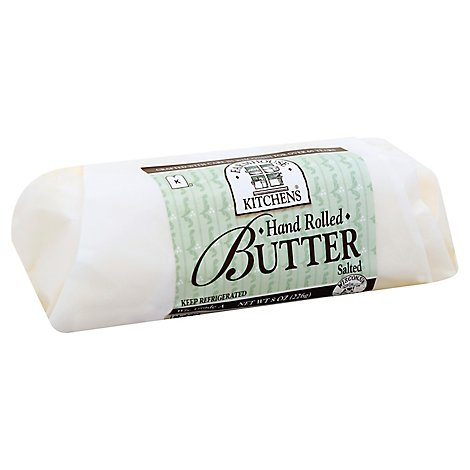 Farmhouse Kitchens Butter Hand Rolled Lightly Salted - 8 Oz