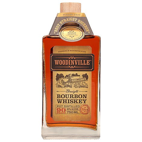 Woodinville Flagship Straight Bourbon - 750 Ml